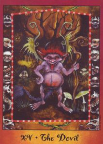The Devil, Faerie Tarot